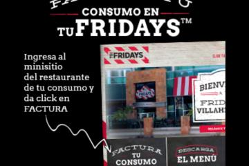 Facturación Fridays : Pasos para generar tu CFDI