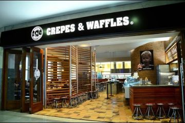 Factura en Crepes & Waffles