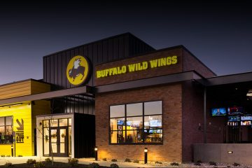 Factura en Buffalo Wild Wings