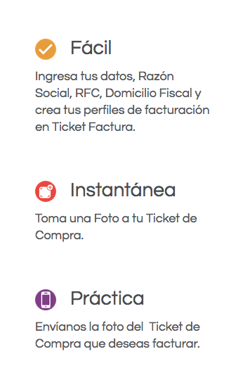 Ticket Factura en Restaurantes, genera tu factura en segundos
