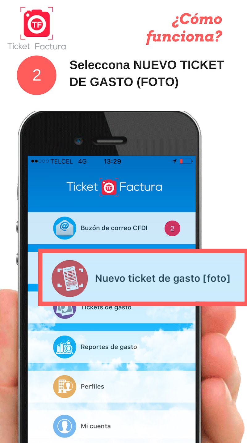 Ticket Factura en Restaurantes, genera tu factura en segundos