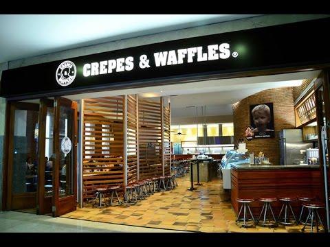 Factura en Crepes & Waffles